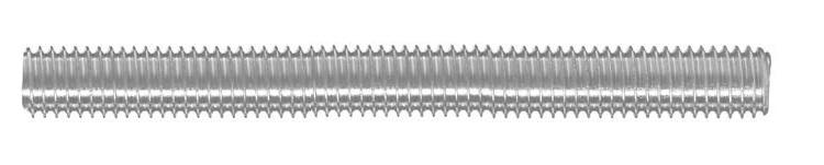 01 Gewindestange Stahl Güte 8.8, DIN 975