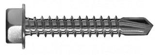 6-KT Bohrschrauben Form K, Edelstahl A2, DIN 7504K