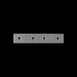 Flachverbinder verzinkt 200x35 (1 Stk)
